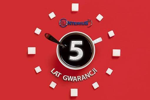 5 lat gwarancji na wszystkie urządzenia Enterius