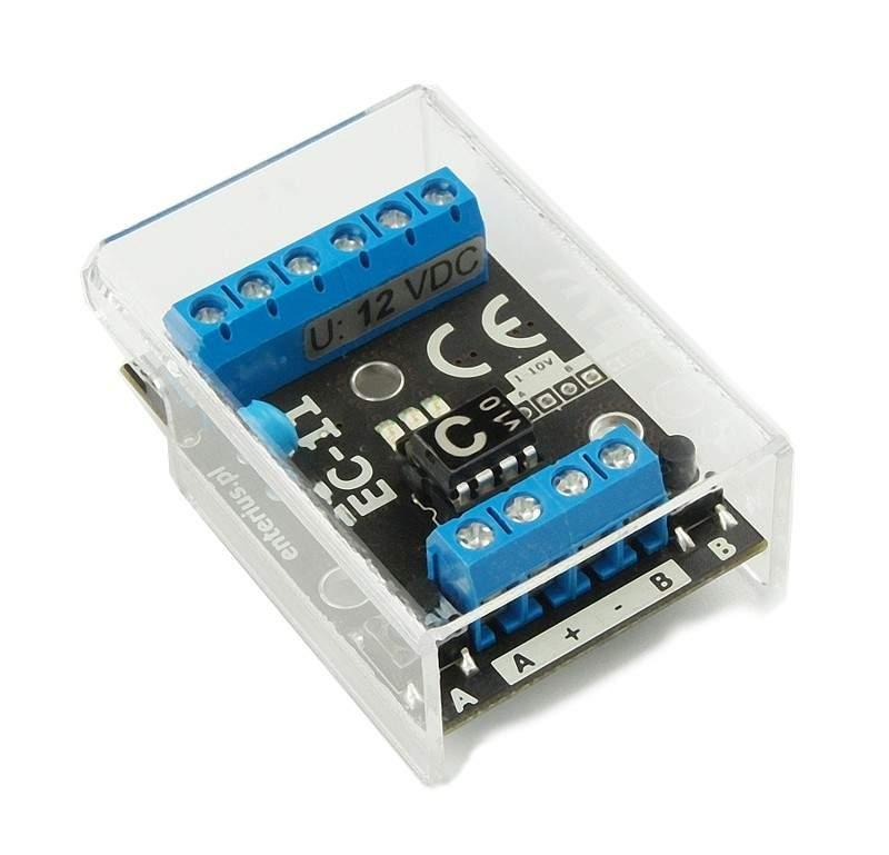 EC-11C - Sterownik LED RGB obsługiwany jednym przyciskiem dzwonkowym