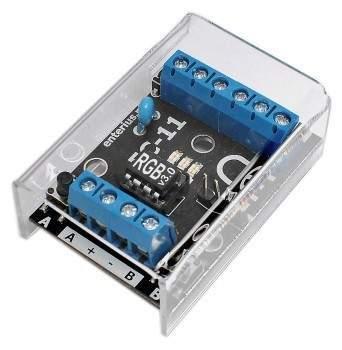EC-11RGB - Sterownik do taśm LED RGB sterowany przyciskami