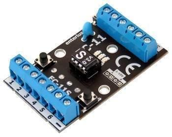 EC-11S - Sterownik scen swietlnych do taśm LED i LED RGB