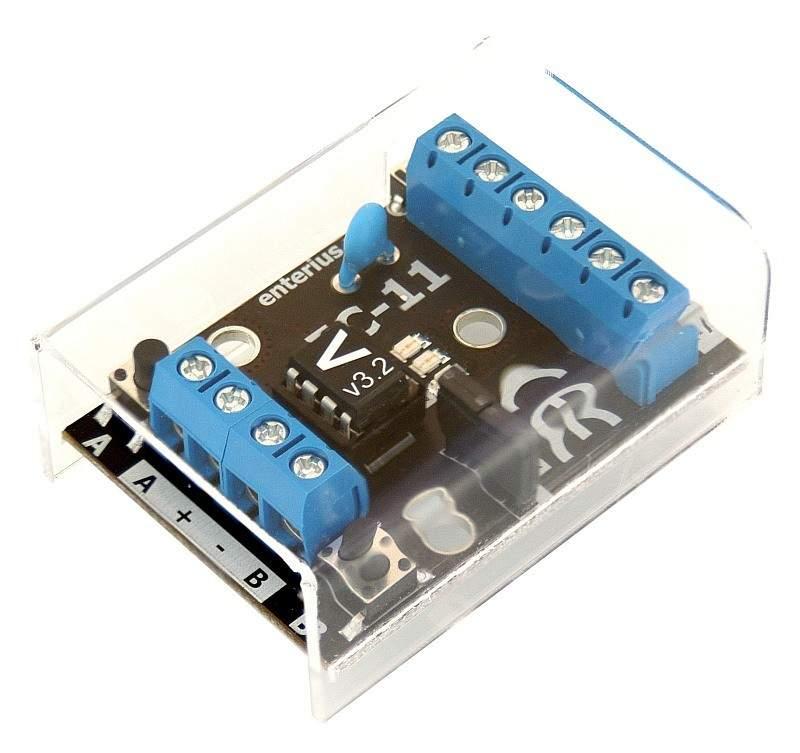 EC-11V Ściemniacz LED lub sterownik RGB sterowany napięciem analogowym (0-10V) lub potencjometrem