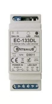 Nowa wersja ściemniacza/sterownika LED RGB EC-11DL kontrolowanego protokołem DALI