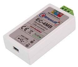 EC-4MB - Interfejs (konwerter) USB-Modbus/RS-485