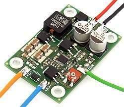 Driver prądowy LED ED-1 ze ściemnianiem dla diod LED dużej mocy - prototyp
