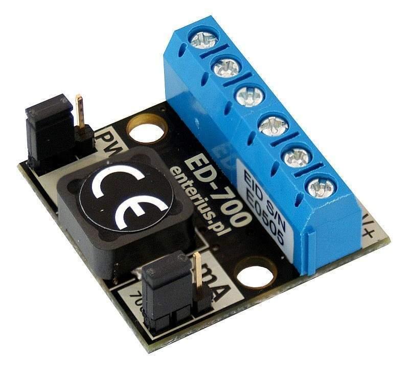 ED-700 - Driver LED, stabilizator prądowy 175/350/700 mA