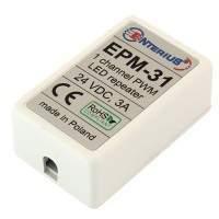EPM-31 Miniaturowy wzmacniacz LED mono dla taśm LED na 24 V
