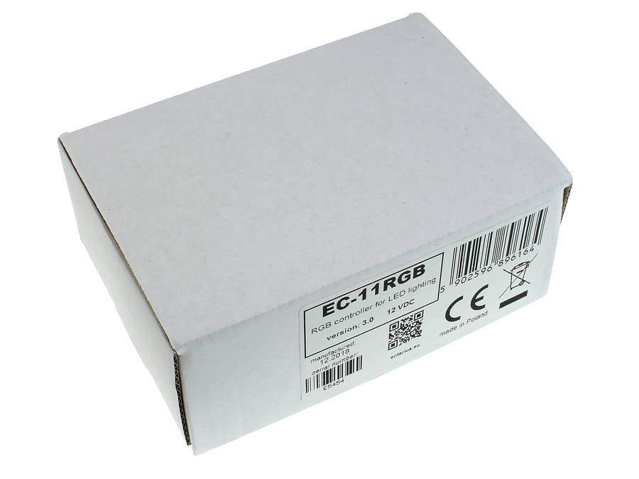 Sterownik LED RGB EC-11RGB - widok z góry