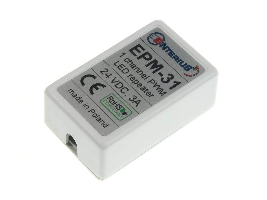 Miniaturowy wzmacniacz LED mono EPM-31