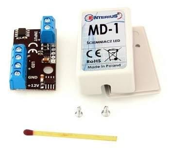 MD-1 miniaturowy ściemniacz do taśm LED sterowany jednym przyciskiem