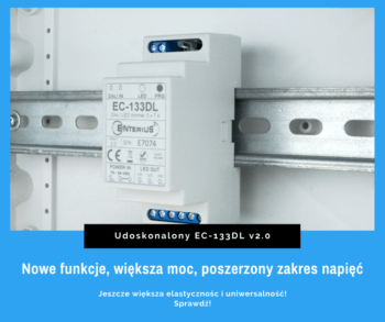 Nowa wersja sterowników LED DALI EC-133DL
