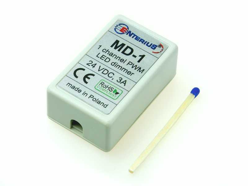 Miniaturowy ściemniacz LED MD-1