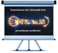 Ściemniacze LED i sterowniki RGB Enterius - prezentacja