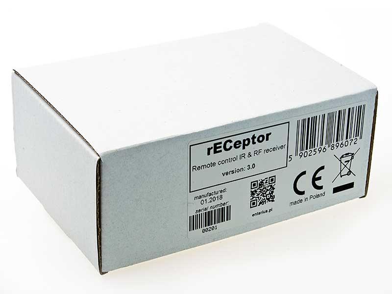 rECeptor - odbiornik zdalnego sterowania dla oświetlenia LED -