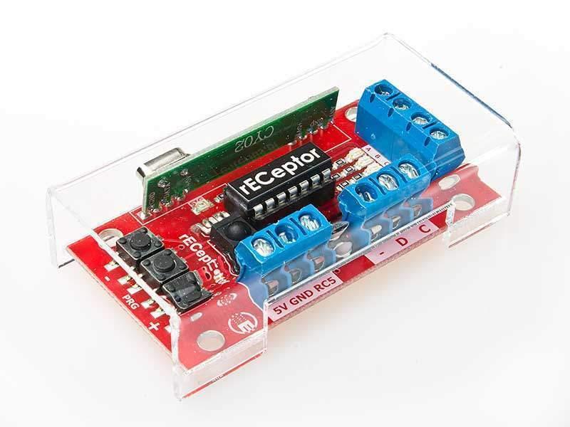 rECeptor - odbiornik zdalnego sterowania dla oświetlenia LED